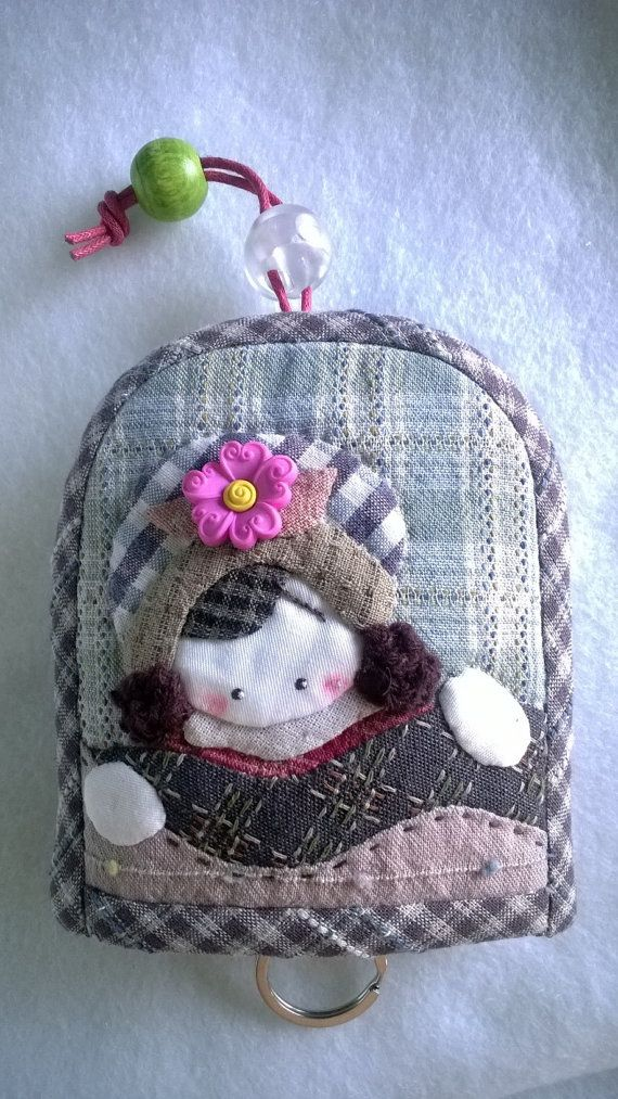 Key cover  appliqué by Munkongshop on Etsy,