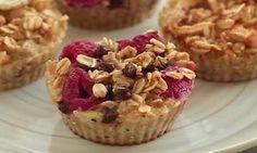 Un muffin santé et sans sucre fait de seulement 4 ingrédients!