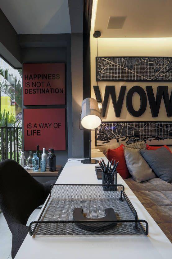 사무실 공간 & 가게 by Claudia Albertini & Chris Silveira Arquitetos