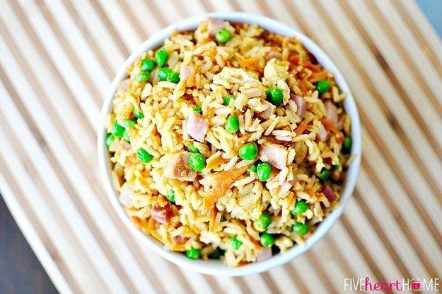 Super schnell gebratener Reis   23 super leckere Gerichte, die Du schnell zubereiten kannst
