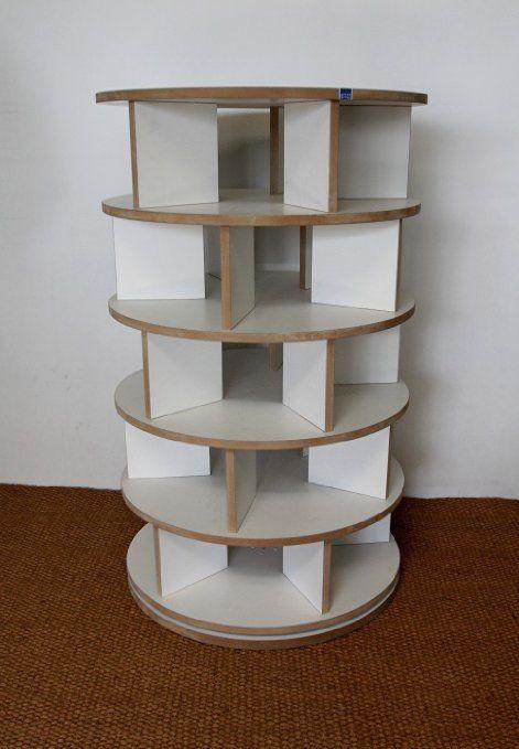 schuhregal schuhkarussell drehbar mdf wei do it yourself pinterest schuhregal. Black Bedroom Furniture Sets. Home Design Ideas