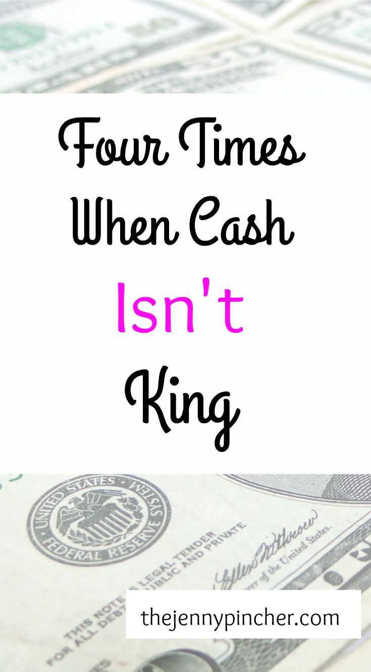 If you seek out advice on the best ways to manage credit, most of the available information advises paying for things with cash and only using a credit card when absolutely necessary. This advice is a step in the right direction. Using cash means you're less likely to purchase items you can't afford, plus cash protects you from debt. But while cash might be king in your book, there are times when credit cards rule the throne! via @thejennypincher