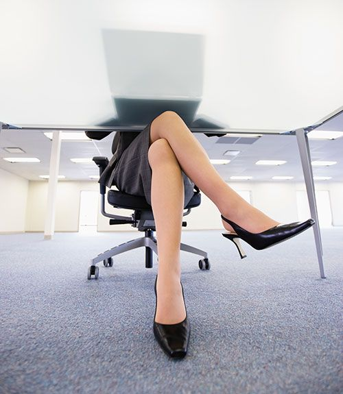 6. Don't cross your legs. - WomansDay.com
