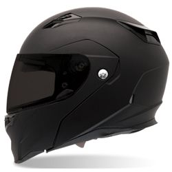 Bell Sports Full Face Motorcycle Helmet - Revolver EVO Dull Black