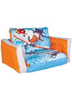 Disney Planes Flip Out Sofa Bed - Use the sofa during the day to watch your favourite TV show or film then in the evening extend the seat to create a comfy flip out sofa bed ideal for sleepovers!