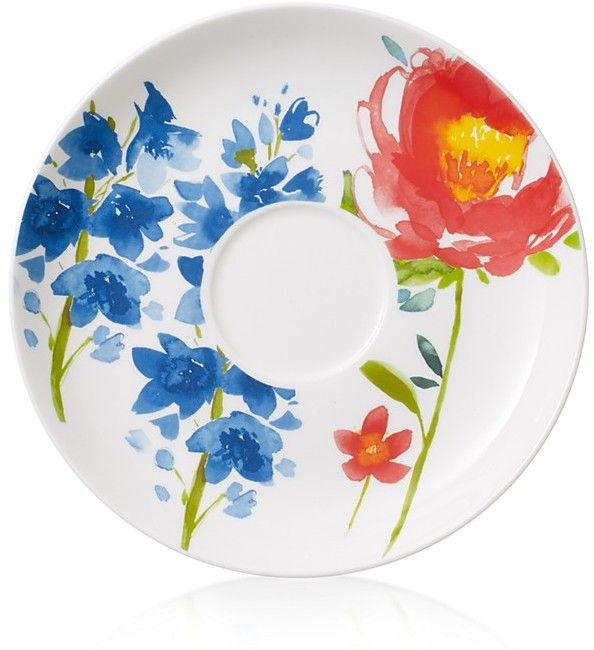 Villeroy & Boch Anmut Flowers Breakfast Cup Saucer