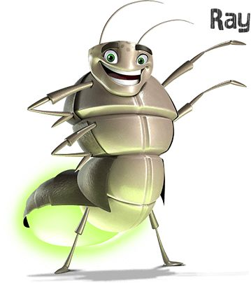 """Ray The Glow Worm reminds us that """"Jesus gives us his power."""""""