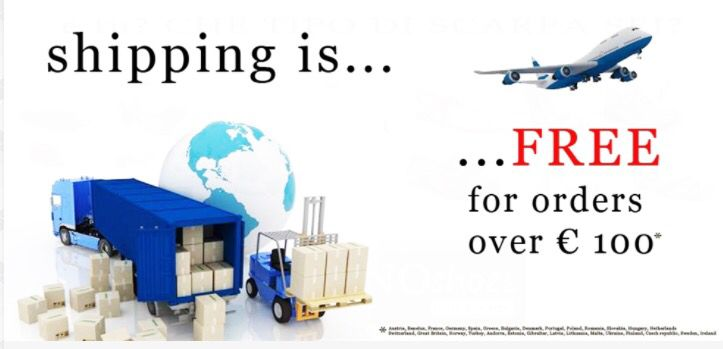 Shipping free!
