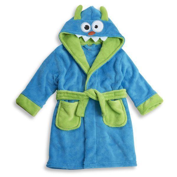 MONSTER mit Kapuze Supersoft-Superweich Bademantel Blau  3-4, 4-5 ,5-6 Jahren in Kleidung & Accessoires, Kindermode, Schuhe & Access., Mode für Jungen | eBay!