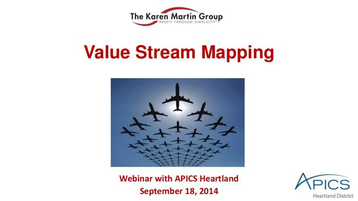 Value Stream Mapping by The Karen Martin Group, Inc.  via slideshare