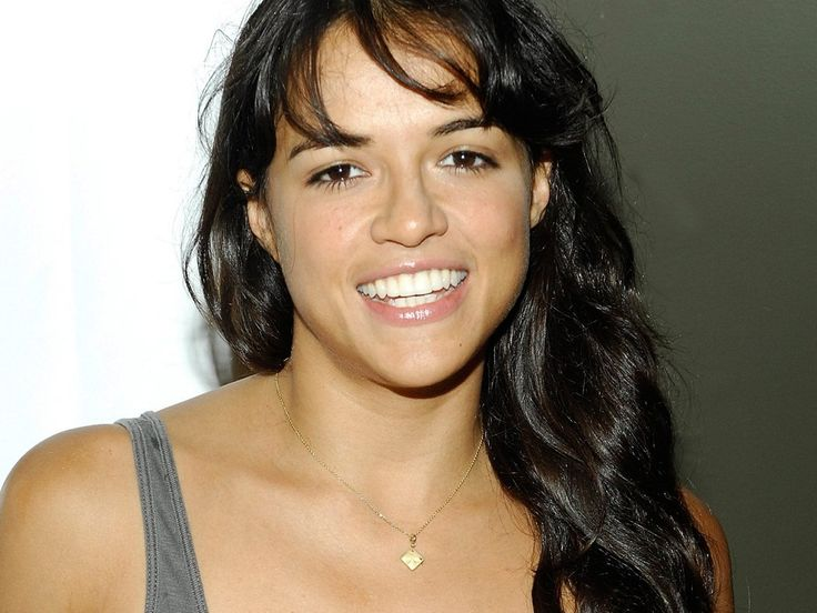 Michelle Rodriguez, apparently she's my celeb look alike