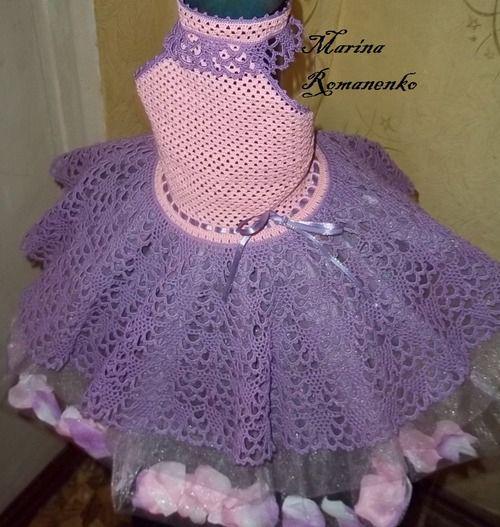 Схема вязания юбки для детского нарядного платья. Обсуждение на LiveInternet - Российский Сервис Онлайн-Дневников