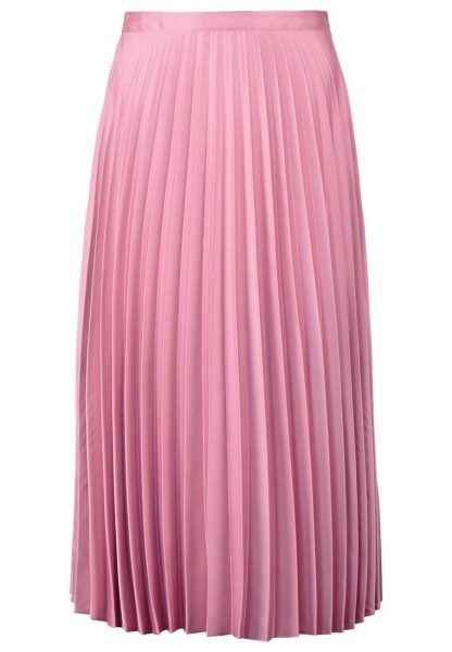 Topshop Falda plisada pink