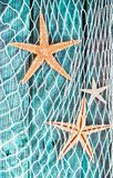 Rustic Nautical Background With Starfish Stock Photo - Image: 39433047