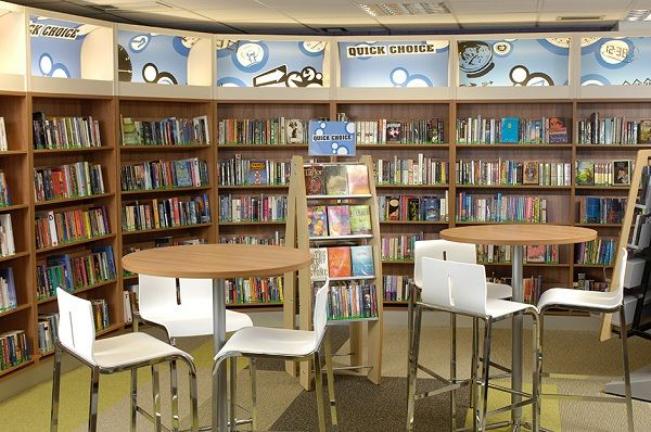 Elementary Library Design Ideas