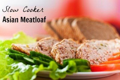 365 Days of Slow Cooking: Recipe for Slow Cooker (Crock Pot) Asian Turkey Meatloaf