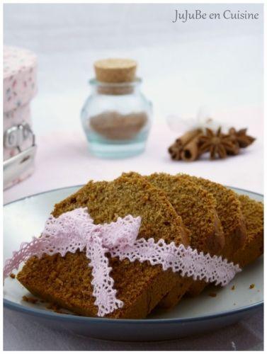 La recette du véritable pain d'épices (sans lait, sans beurre et sans oeufs) avec moitié farine de sarrasin. On peut mettre 120g miel et 100g sucre roux