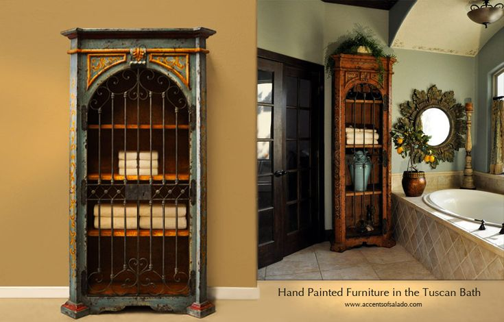 Re-purpose A China Cabinet, An Armoire Or A Bookcase For