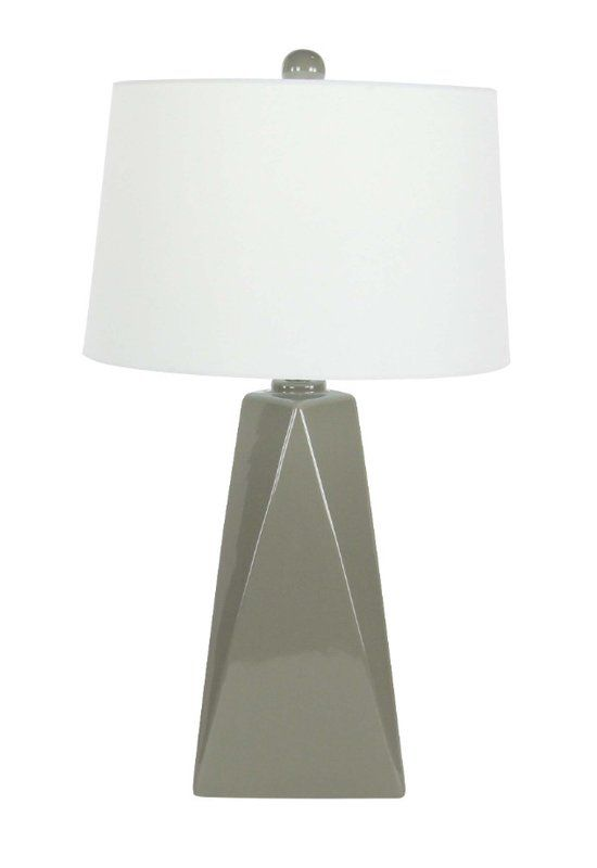 This table lamp will match with all theme interiors from traditional to modern. Adding this to home will make its environment look astonishing beautiful. Well constructed with ceramic material, this lamp will offer an unstoppable use for many years.