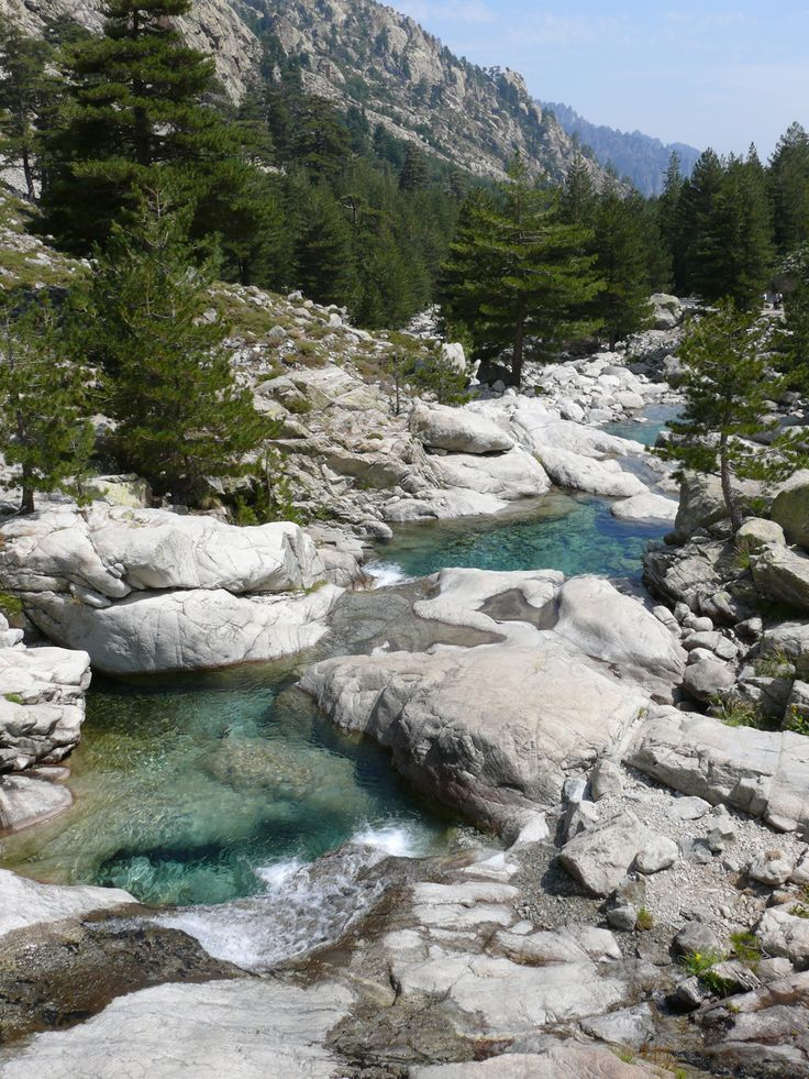 La vallée de la Restonica