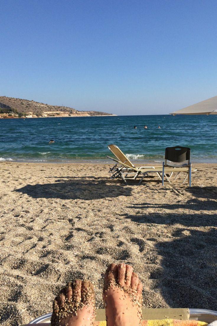 Vouliagmeni beach, Athens, Greece #ihavethisthingwithgreekbeaches #Greece