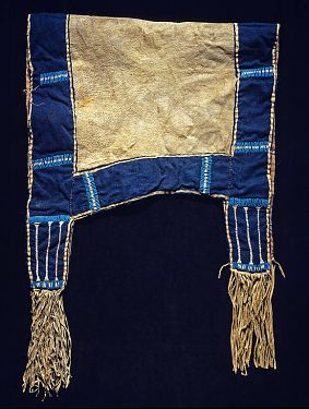 Collections Search Center, Smithsonian Institution, Lakota saddle blanket