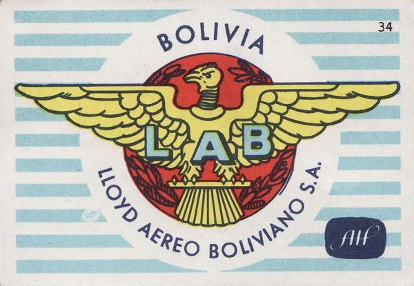 vintage Latine American matchboxes