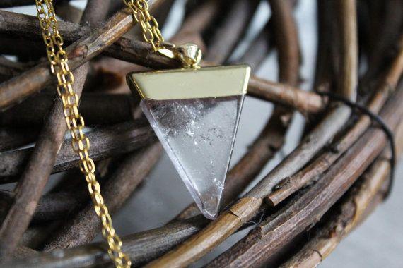 Pendelkette mit Chakra Edelstein Kristall Anhänger von pureandhoney