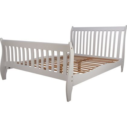 maldon king size bed frame white - Double Size Bed Frame