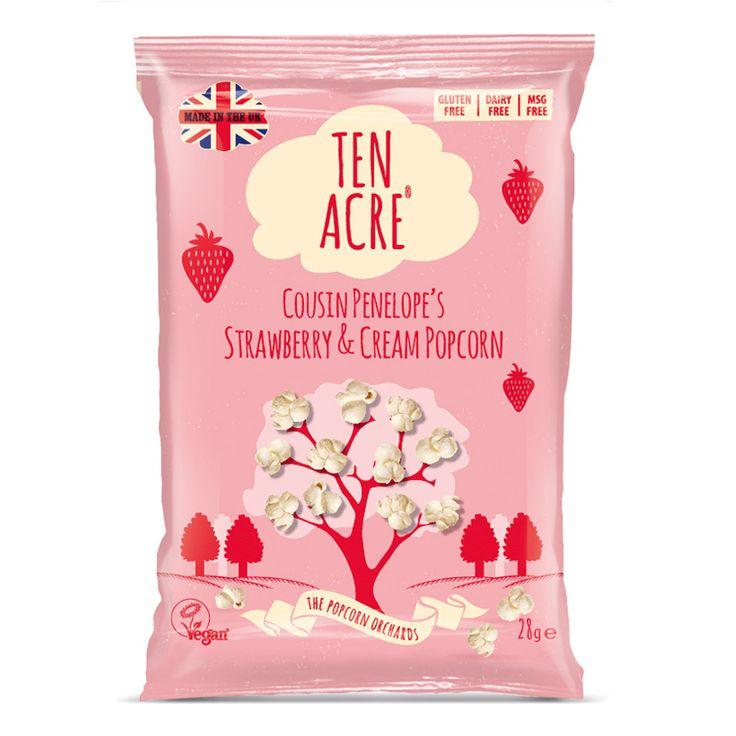 Cousin Penelope's Strawberry and Cream Popcorn | Delirio Gourmet Foods