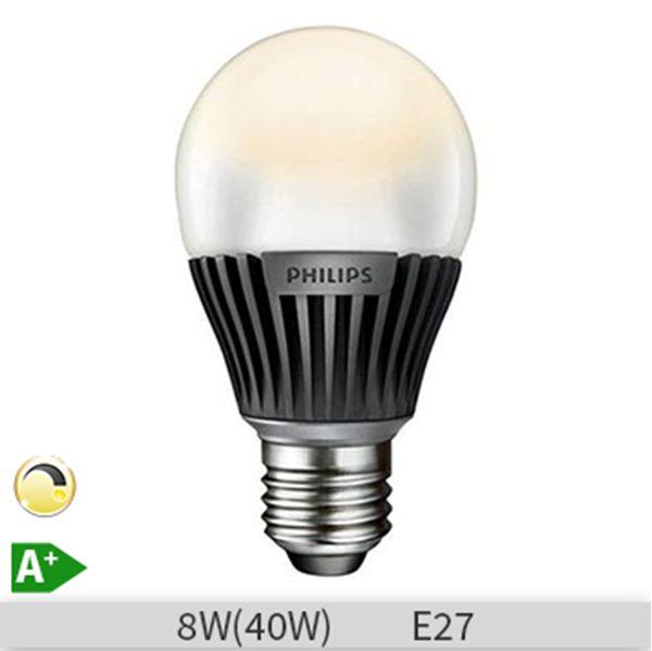 Bec LED Philips, MASTER LEDbulb, forma standard, E27, 8W, 25000 ore, lumina calda http://www.etbm.ro/becuri-led