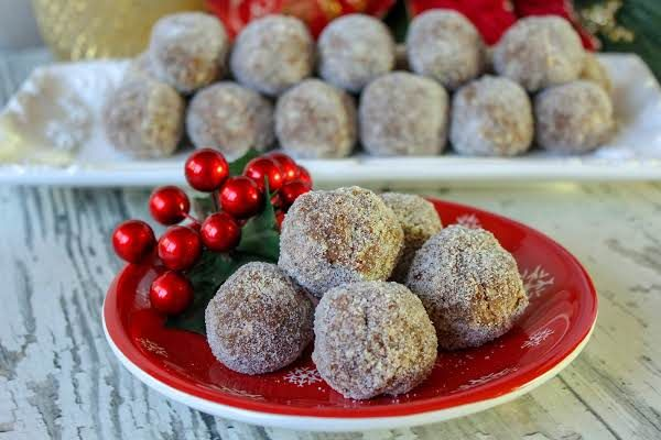 Aunt Mildred S Whiskey Balls Recipe Whiskey Balls Recipe