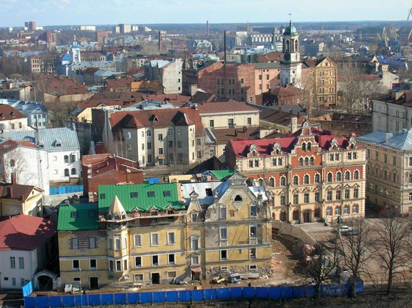 File:Выборг.jpg. View from Olaf's Tower, Viipuri