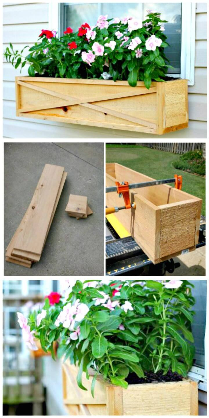 Diy Window Planter Box Ideas 14 Easy Step By Step Plans With