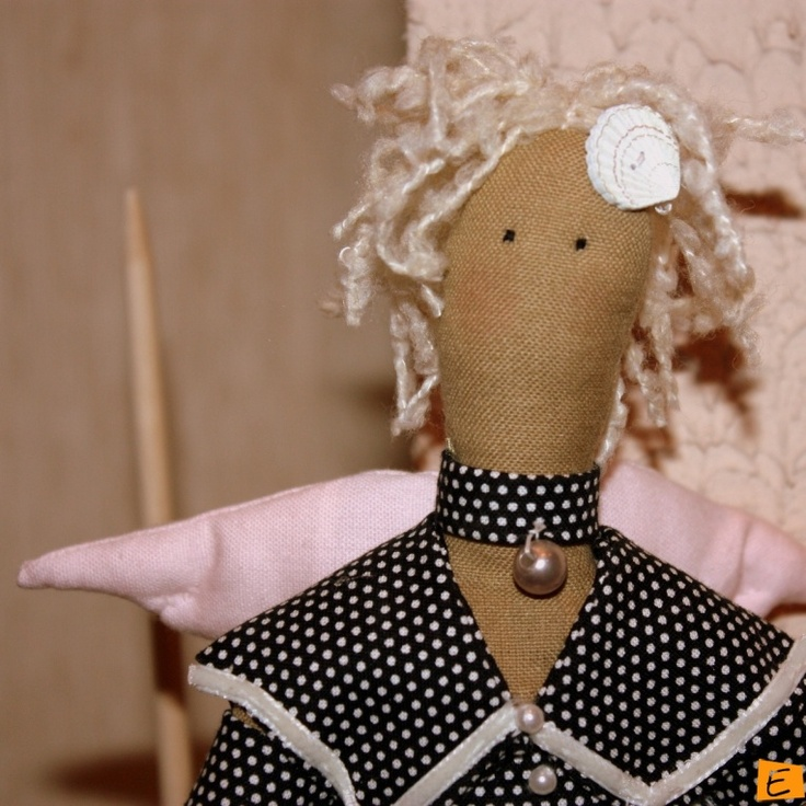 Куклы - Тильда Морской Ангел   Eksklyuziff.com