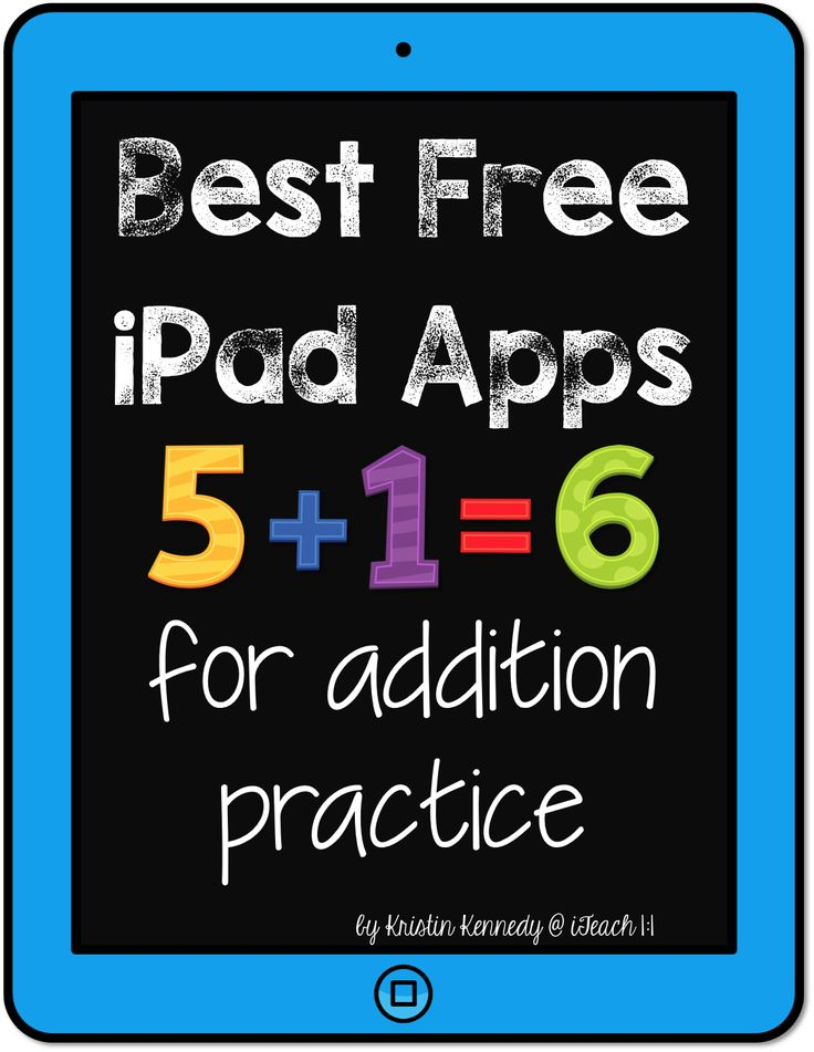 Best FREE iPad apps for addition practice