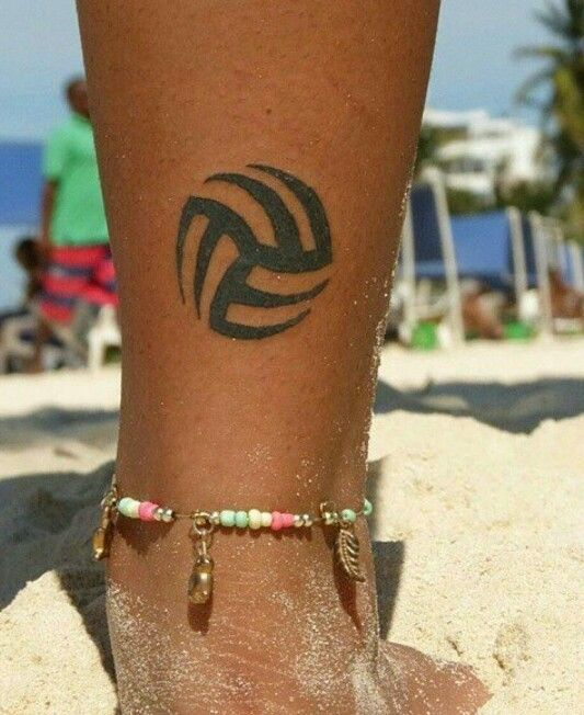 Tattoo bola de vôlei  Tattoo volei  Volleyball