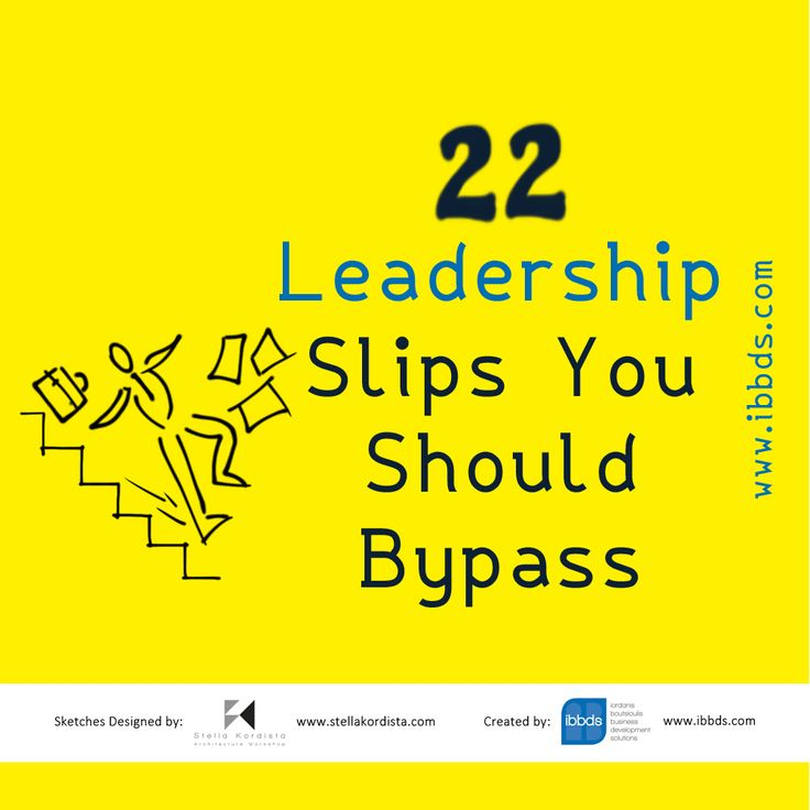 #22 #Leadership #Slips #You #Should #Bypass