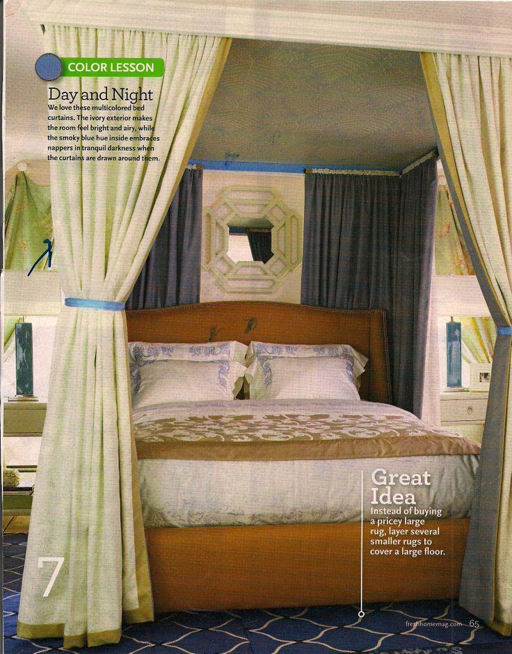 48 besten Raumteiler Bilder auf Pinterest Raumteiler, Paravent - romantisches schlafzimmer mit himmelbett gestalten