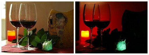 Wine, candle and a flAVATAR rose - this is the most romantic evening! ;) #facebookcover