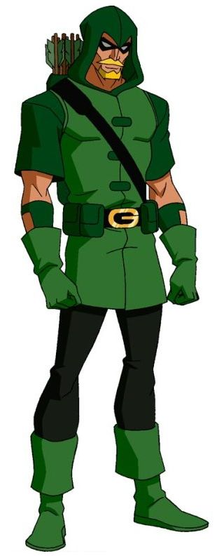 Green Arrow - Young Justice    reference picture