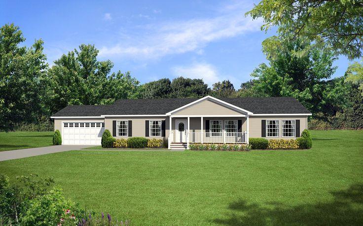 Dutch modular 3060 with porch and 2 car garage our for Modular garage addition