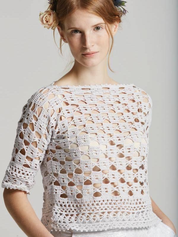 Aster crochet pattern from Rowan Filigree Collection Three 2015