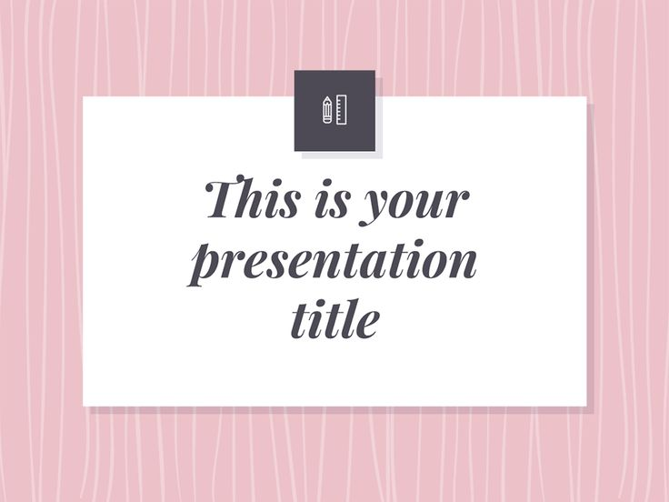 If you need an elegant and stylish design you should choose this free presentation template. With pink as main accent color this design adds a feminine touch to your ideas, but you can easily change the color if you need another mood. This template works great for topics related to fashion or decoration. This free presentation