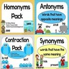 This is a huge bundle of 4 language arts packs!  It includes the antonyms, synonyms, contraction and homonyms packs.  170 pages!  TPT  $