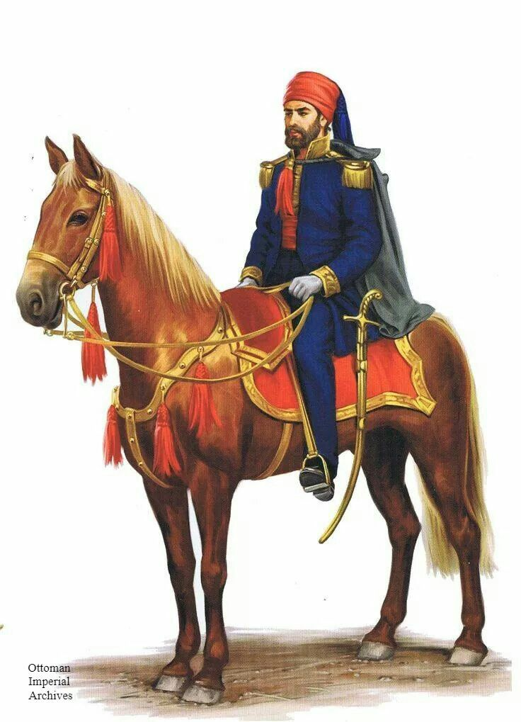 An Ottoman Pasha, 1850.