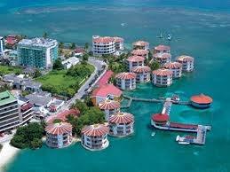 San Andres Island, Colombia.  Hotel Acuario