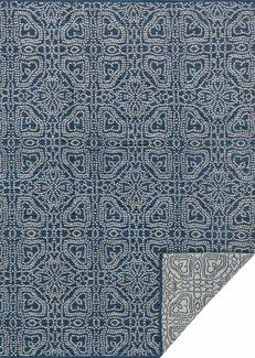 Joanna Gaines Rugs of Magnolia Home Rug Collection - Emmie Kay Collection - Navy / Cream