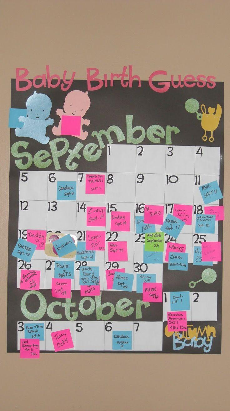 Infant Calendar Ideas : Best ideas about due date calendar on pinterest baby
