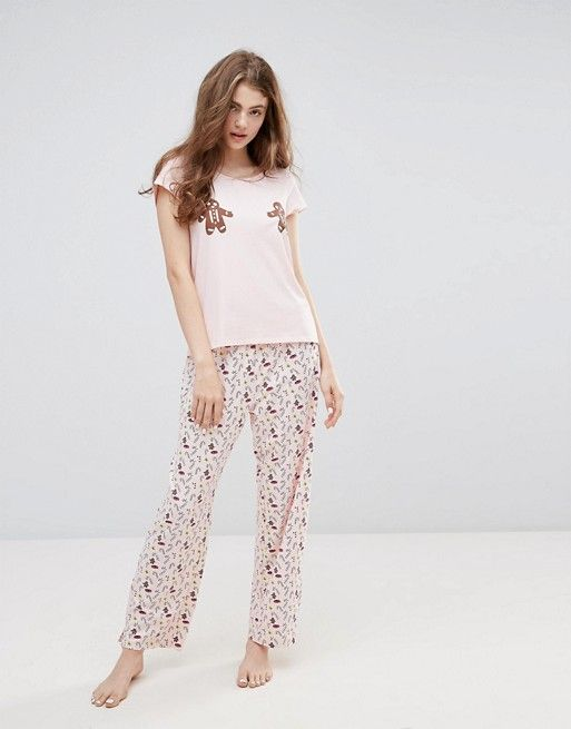 de655a94be Monki Holidays Gingerbread Pajama Set